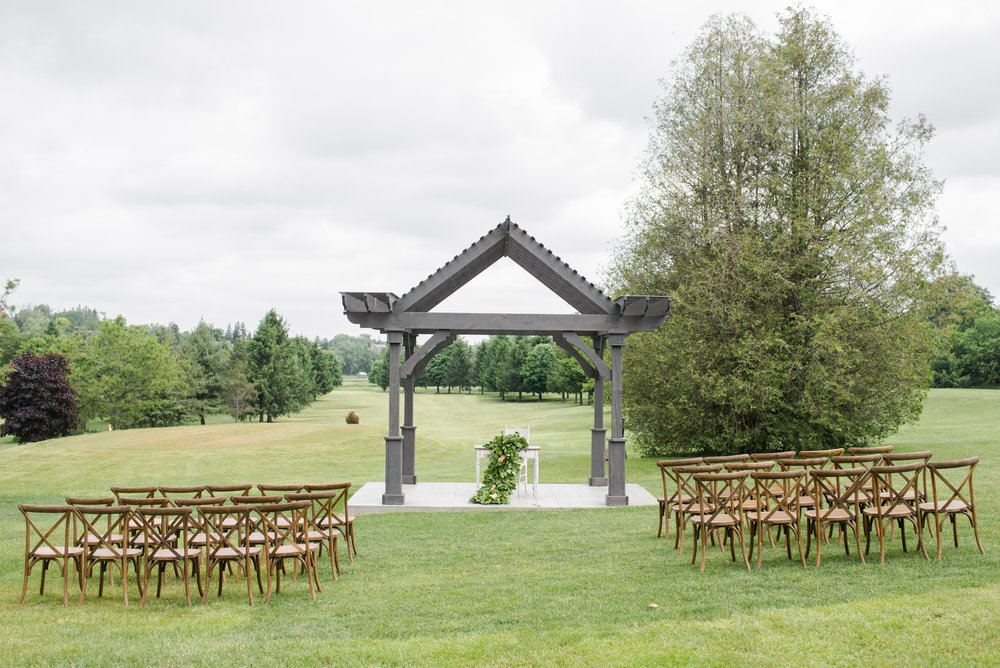 Just when we thought that wooden harvest benches were our favourite rented seating option for the Hideaway ceremony grounds, these gorgeous vineyard chairs came in and stole our hearts.