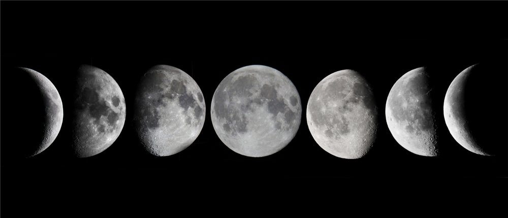 Lunar phases - short piano melodies
