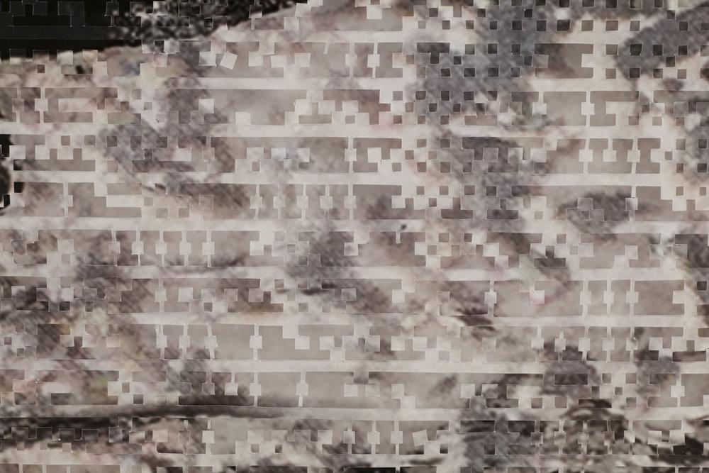 Crashing Waves II (detail)