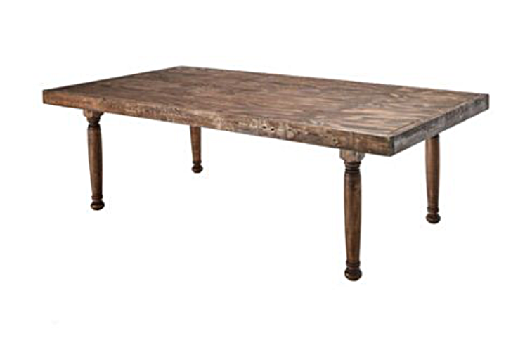 Hand Crafted, Rustic Farm Tables