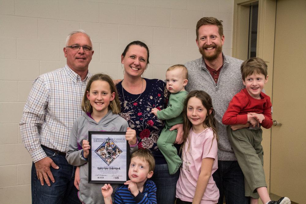 Randy & Abby Henderson with their children