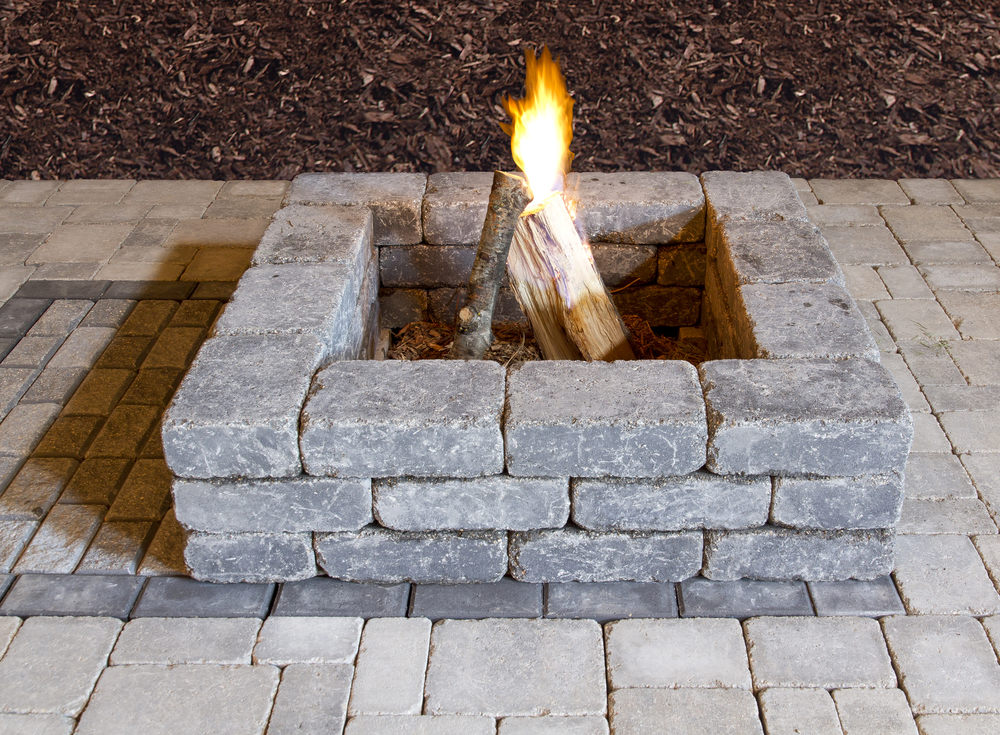 Oasis Square Fire Pit