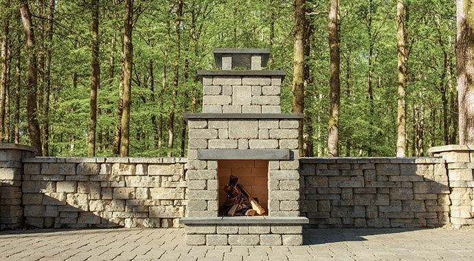 Oasis Compact Fire Place