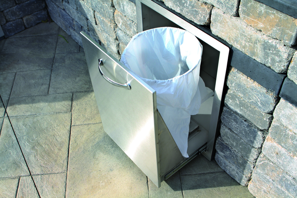 C: Prep Station Waste Container