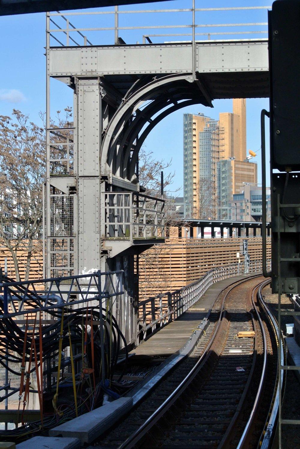 Train track Berlin