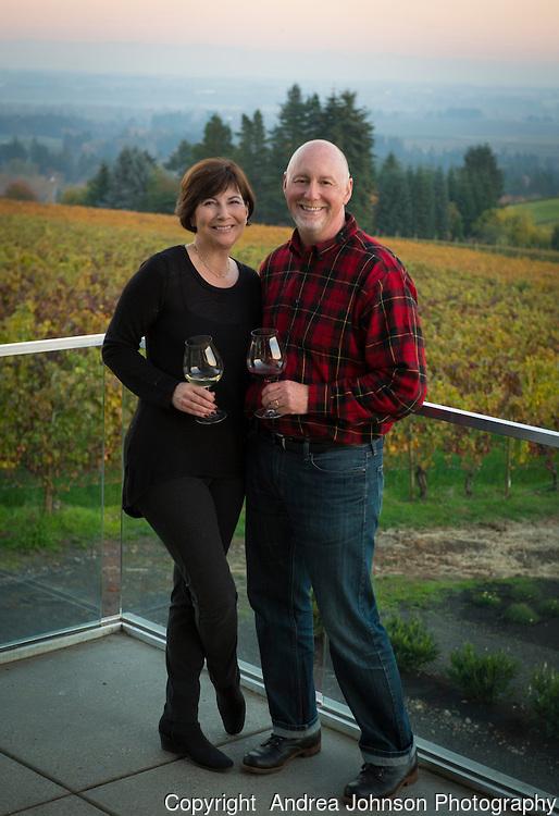 Bill and Donna Morris of Winderlea Wines