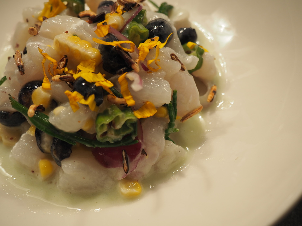 Chef Charlie Foster's Halibut Ceviche