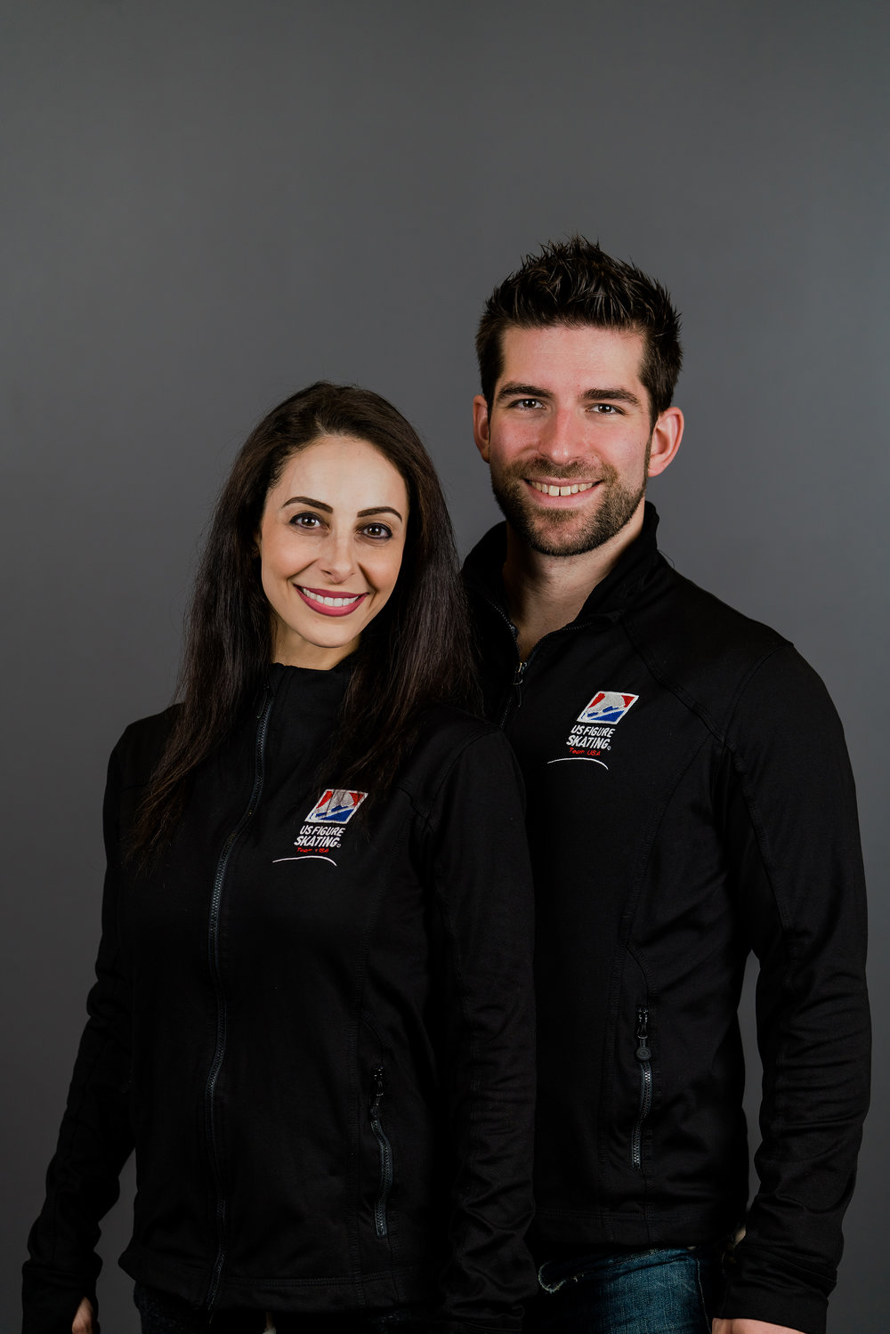 Deanna Stellato and Nathan Bartholomay, pairs team for Team USA (Photo courtesy of US Figure Skating)