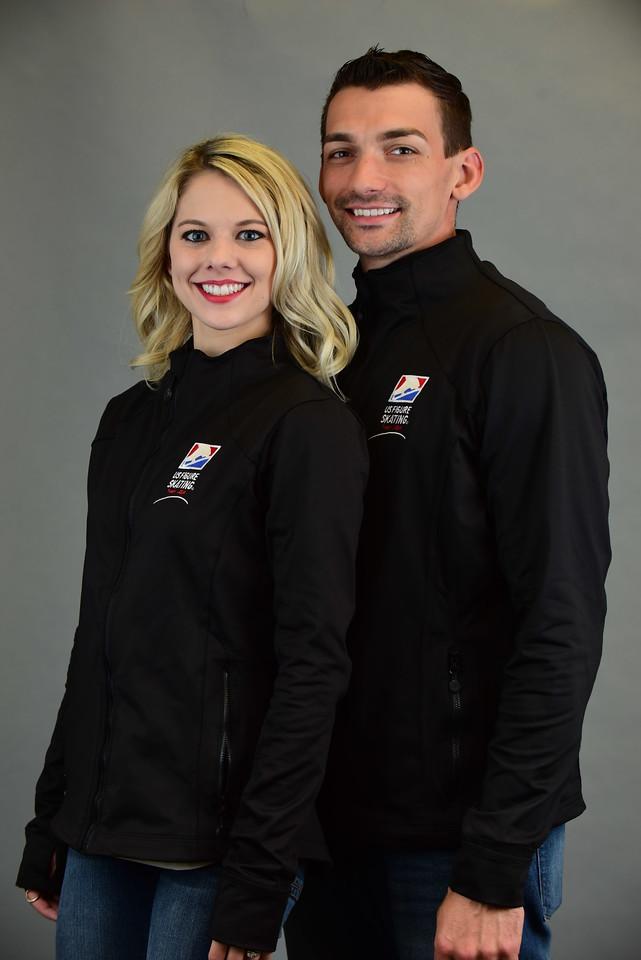 Alexa and Chris Knierim (Photo courtesy of US Figure Skating)