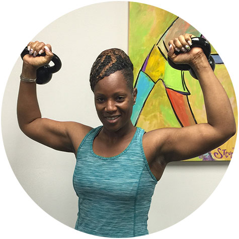 Katrina E. Be Fit Personal Trainer Client