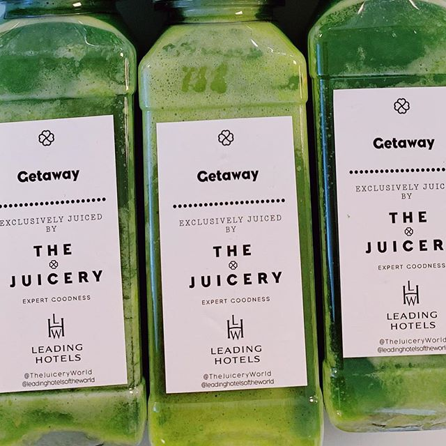 Join us at @iltm_events #iltmcannes and @leadinghotelsoftheworld for a morning juice!  #healthyfood #healthytravel #greenjuice #superfood