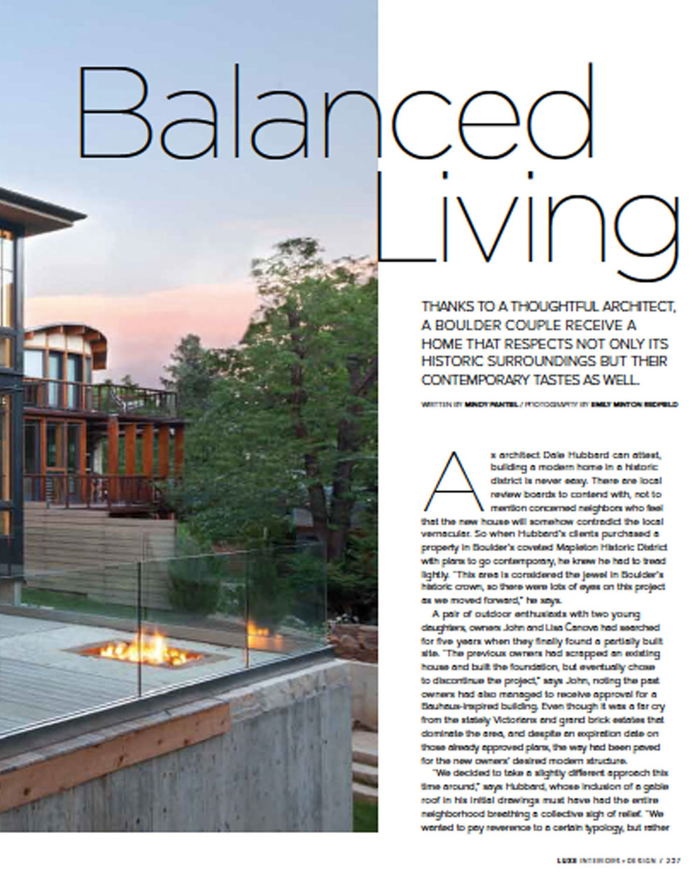 Luxe Balanced Living