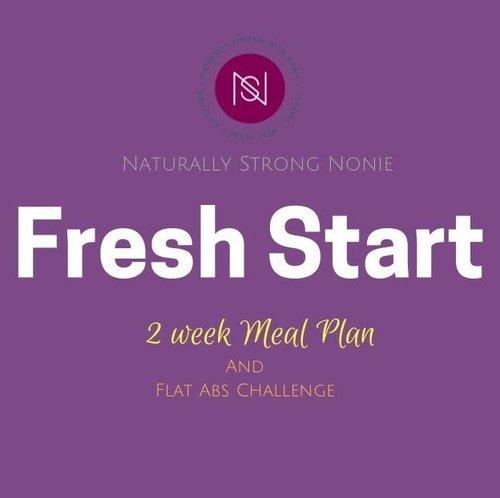 Fresh Start 2 Week Meal Plan + Flat ABS Challenge