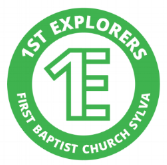 1st Explorers Logo plain green.png