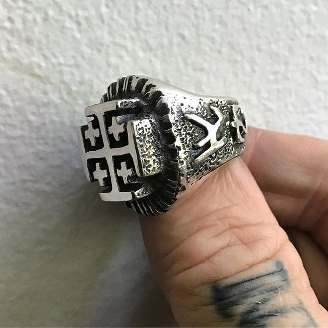 This will be the last ring I make for a while.  Taking a break to catch up on other projects.