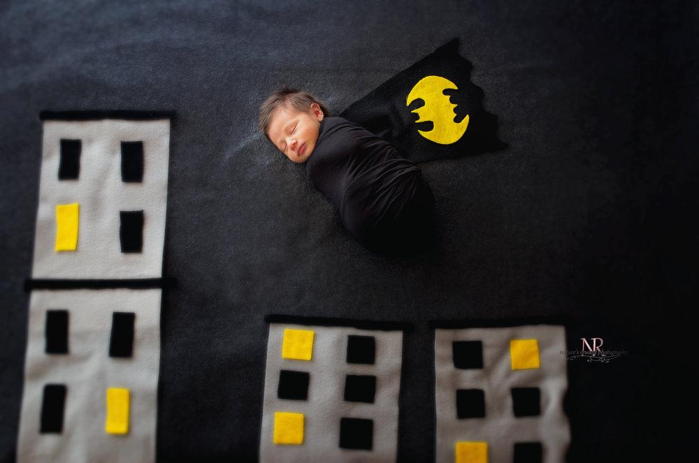 Batman Unmasked Newborn Image