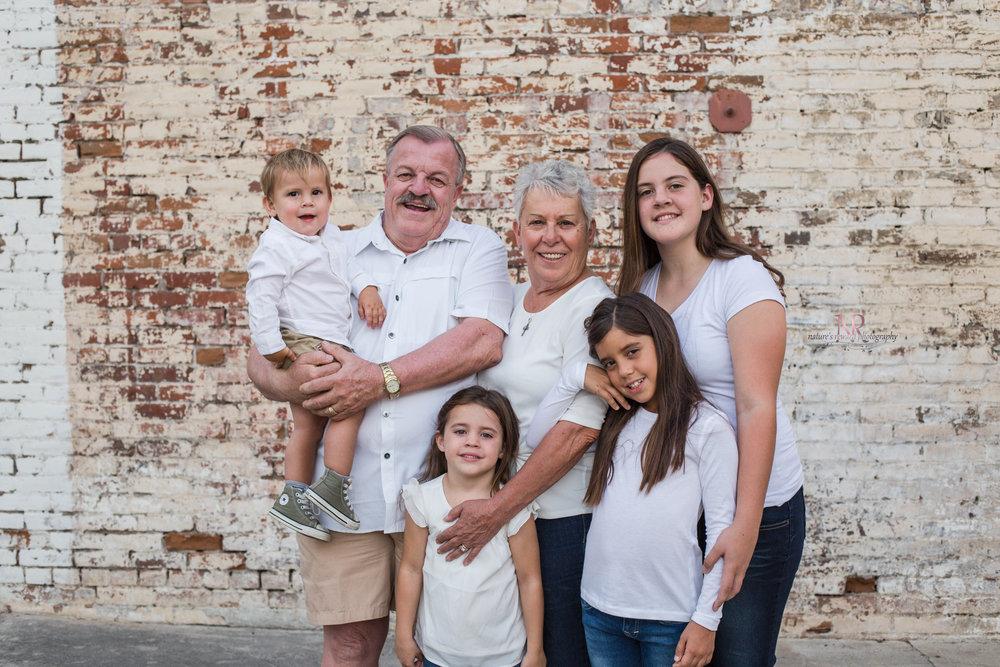GrandParents and their Grandchildren portrait