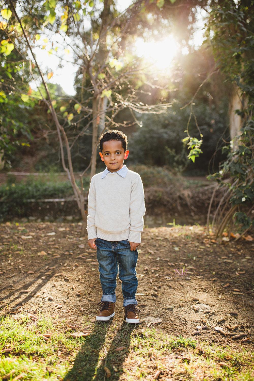 Sweet Boy in Gorgeous Light