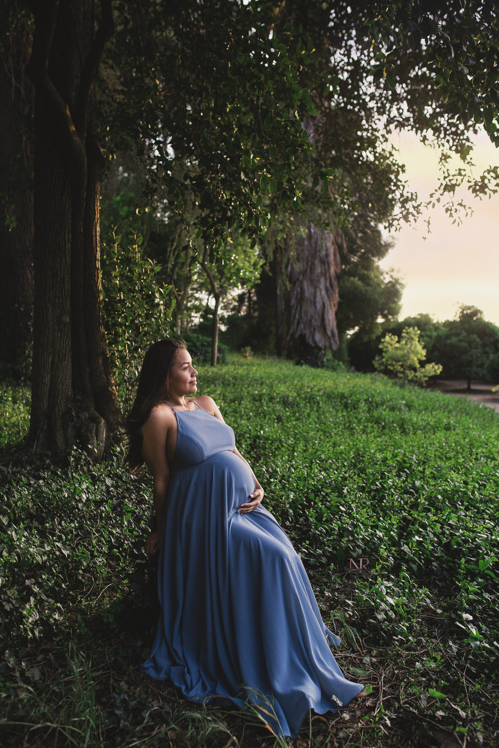 Oh My Goodness.   The beauty here.  She is stunning!  This maternity image is everything I would want of myself hanging on my wall.