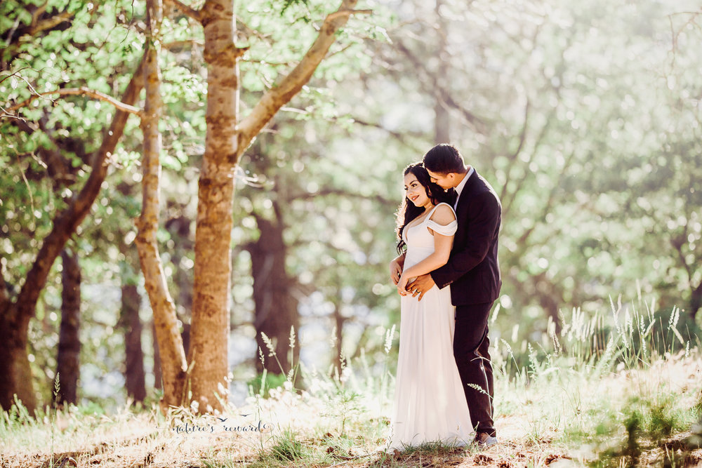 Gorgeous bride and groom portrait by Nature's Reward Photography