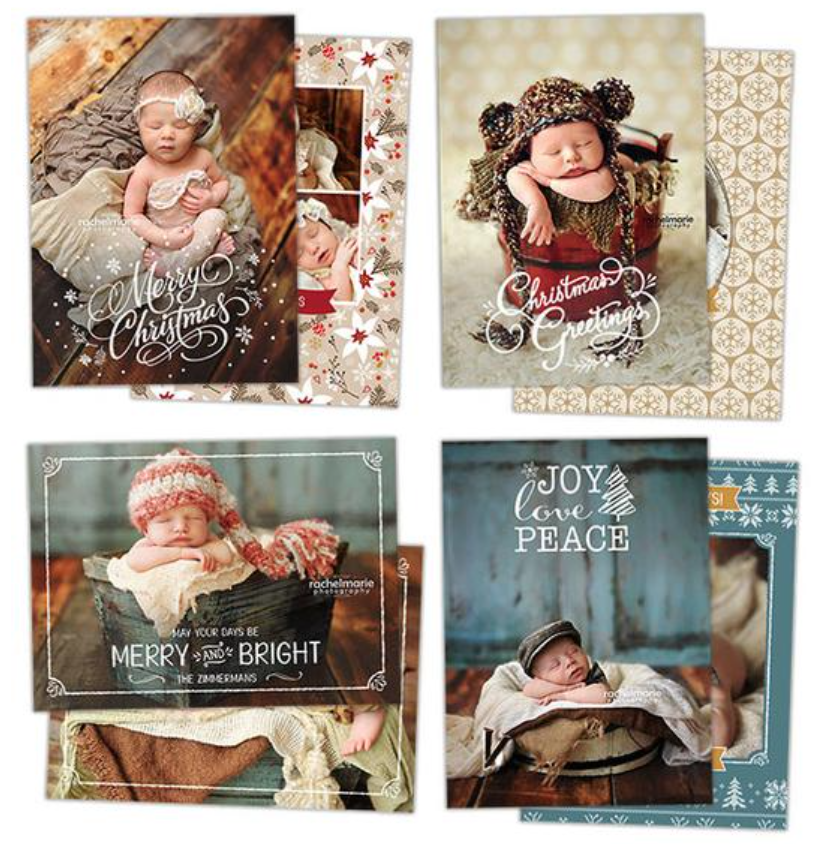 4 Cards to Choose from -