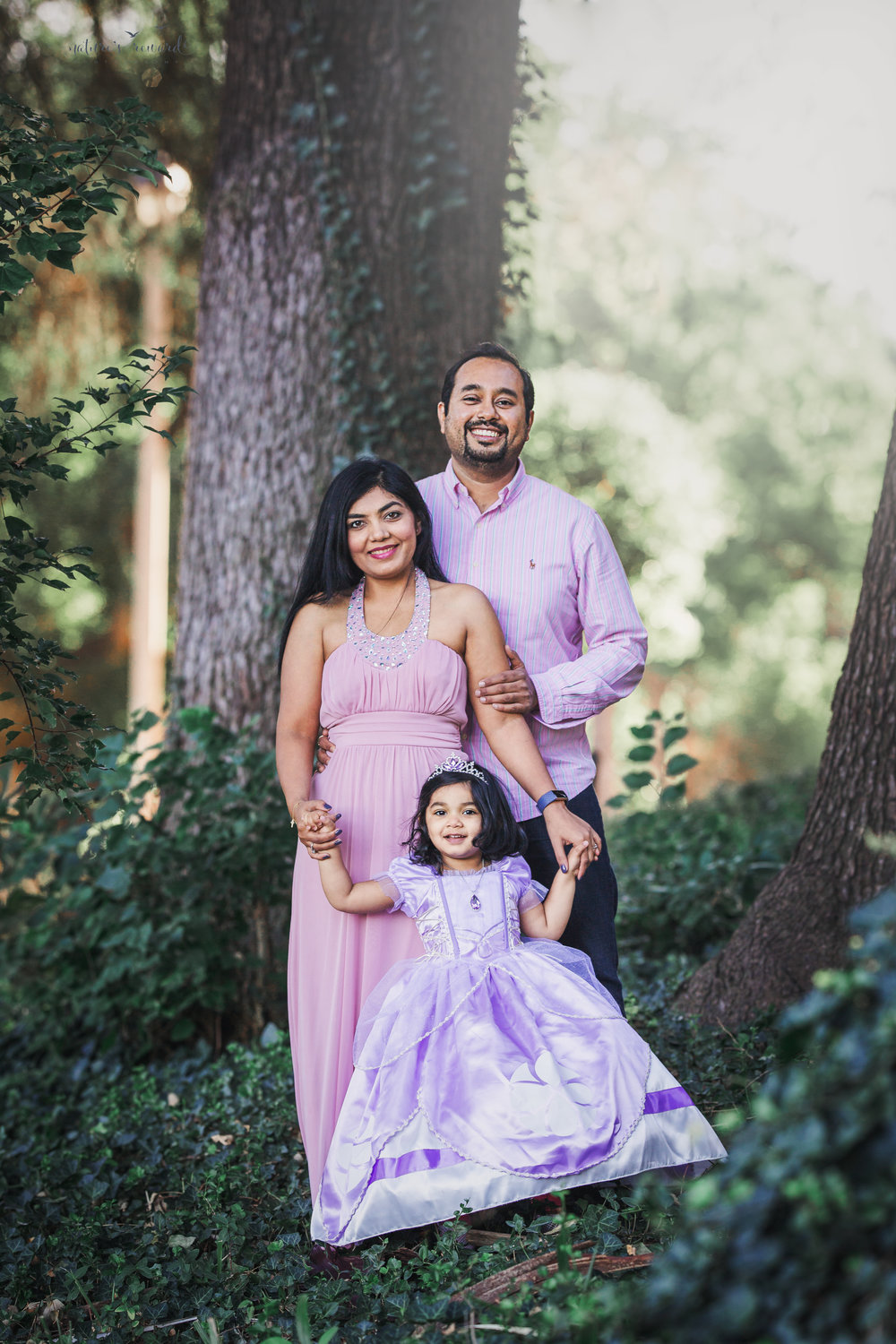 She is 3, family portrait by Nature's Reward Photography