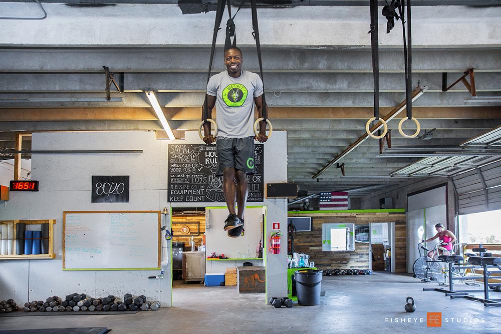 Derrick Cannon Distinct Fitness Cider Room Off The Grid Greenville