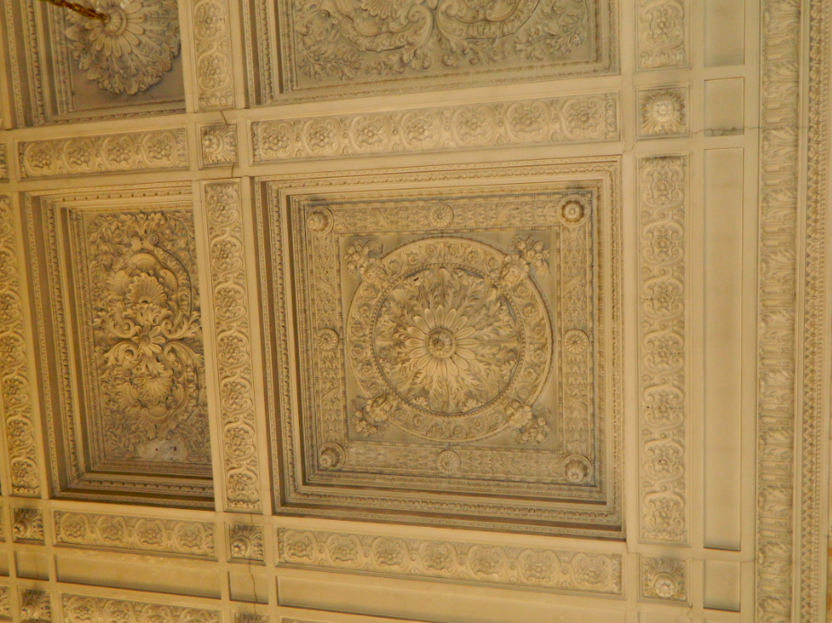 cieling in versaille