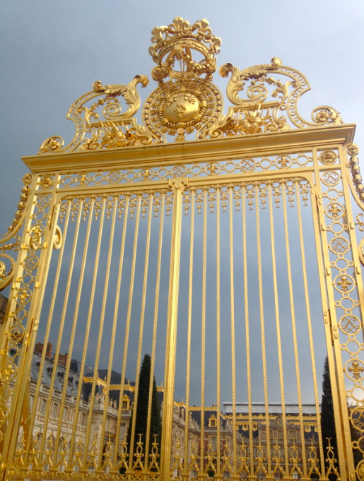 gate at versaille
