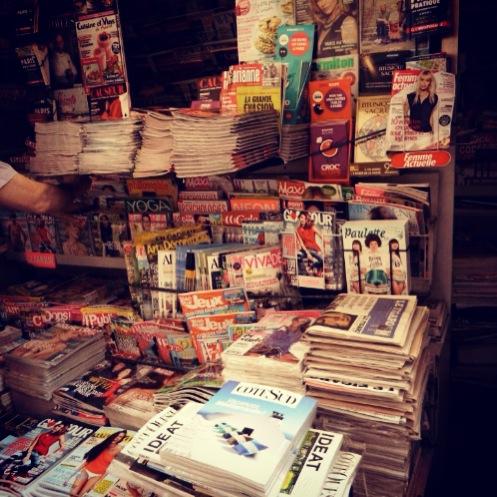 magazines in paris