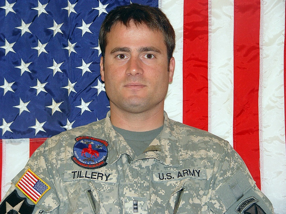 JOSHUA M.       TILLERY Joshua and others like him have shown us that our freedom isn't free.