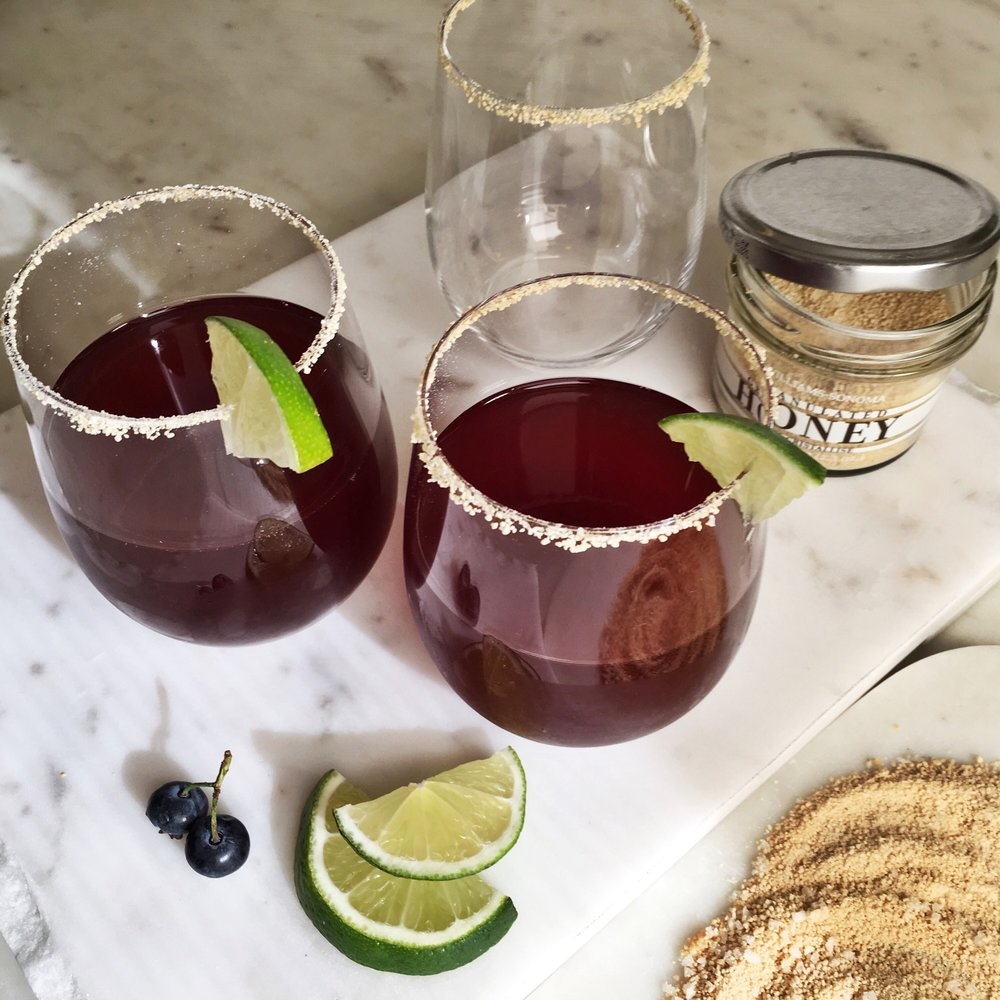Blume Blueberry Margarita