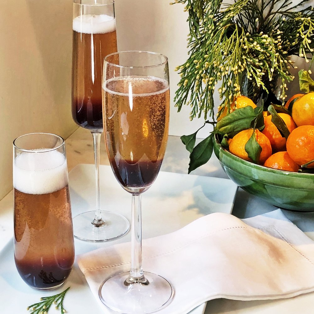 Bubbly Blume Champagne Cocktail