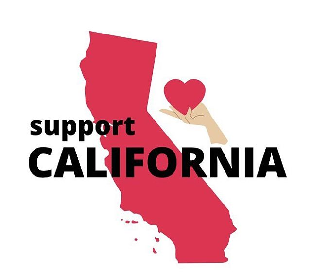 We are overcome with sadness for those that have lost family, friends, homes and pets to the devastating fires in California, although we are filled with hope through the actions of all the courageous first responders.🎈 . Here is a suggestion to help from where you are...please consider donating to the California Fire Foundation, who is on the ground supplying aid. Follow the link in bio for more information.