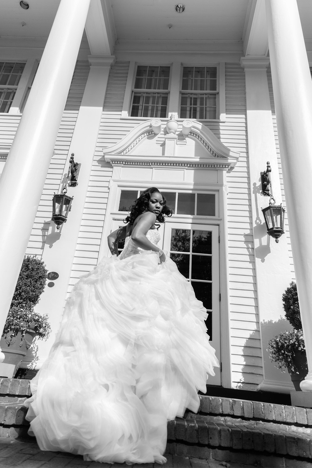 """NATALIE H.- South Carolina   """"Bryan has the ability to put fresh and a new prospective on traditional photographs. The results for my bridal shoot far exceeded all of my expectations. His attention to detail and professionalism are unrivaled. If ever asked, he is always my very first recommendation for a photographer for ANY event or photo session!"""""""
