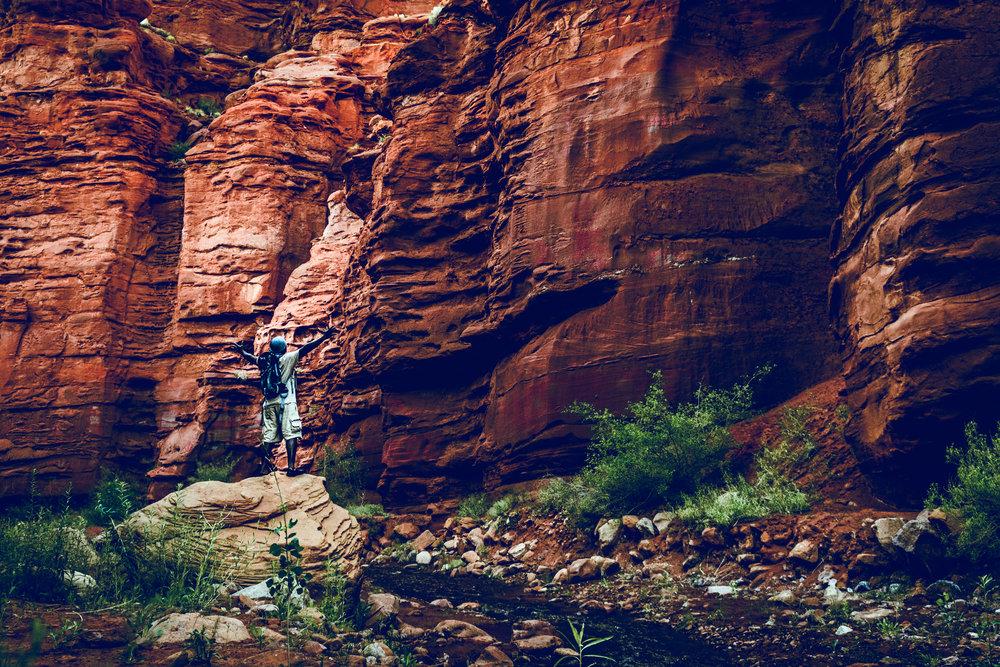 Mary Jane Canyon in Moab, Utah