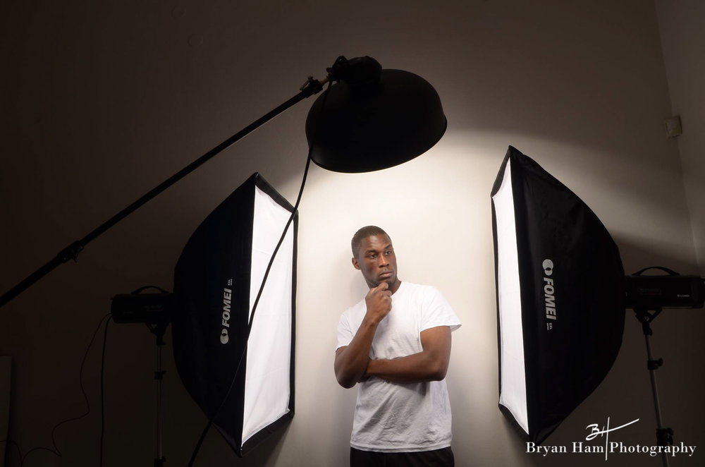 Everyone can't be a model, so I do my best work behind the lens. :-)