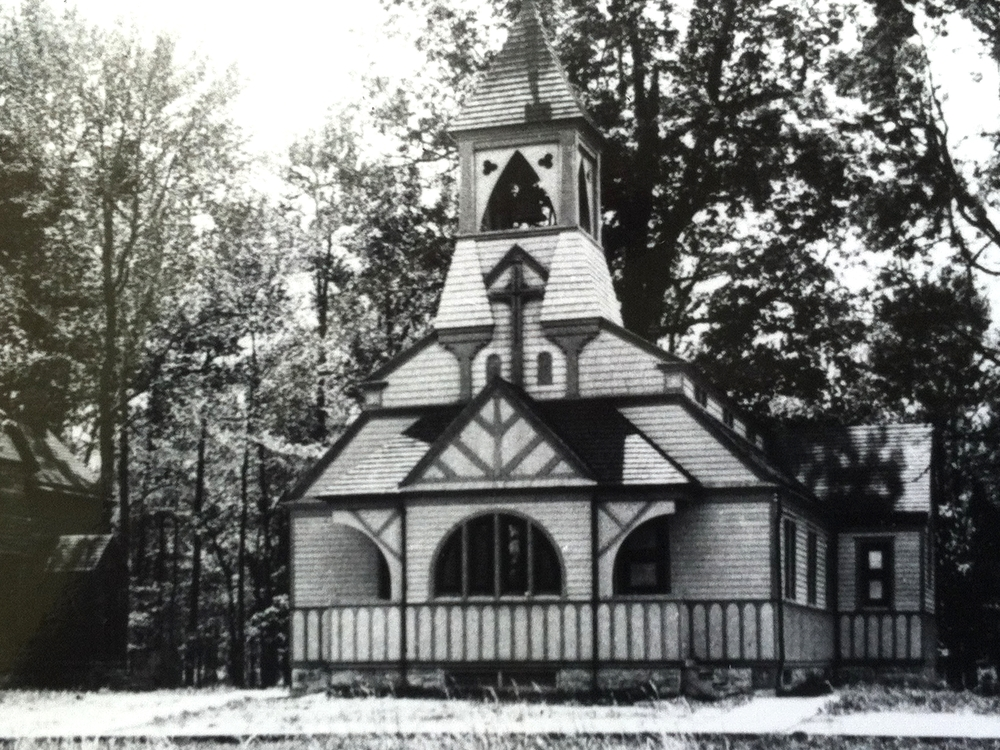 St. Matthew's in Sparrow's Point, Built in 1889, At 8th & D Streets. Photo courtesy of The Dundalk Patapsco Historical Society.