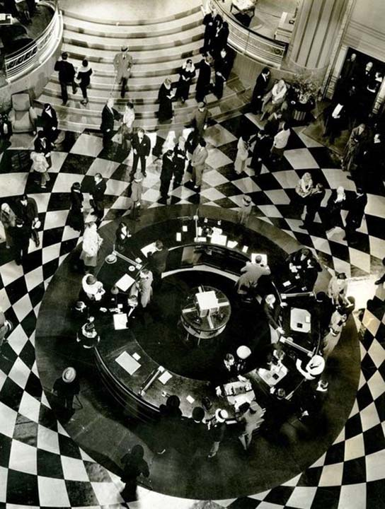 The Grand Hotel,1932, Cedric Gibbons