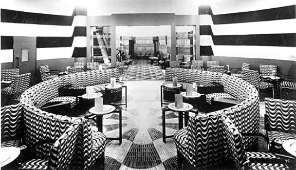 Regent Place Hotel, London, Chez Cup Cocktail Bar 1930