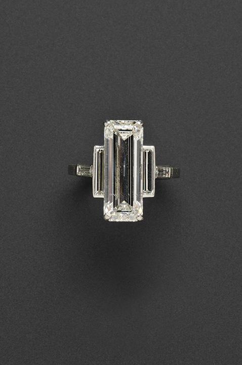 Cartier, Emerald Cut, 7.75 Carat Diamond