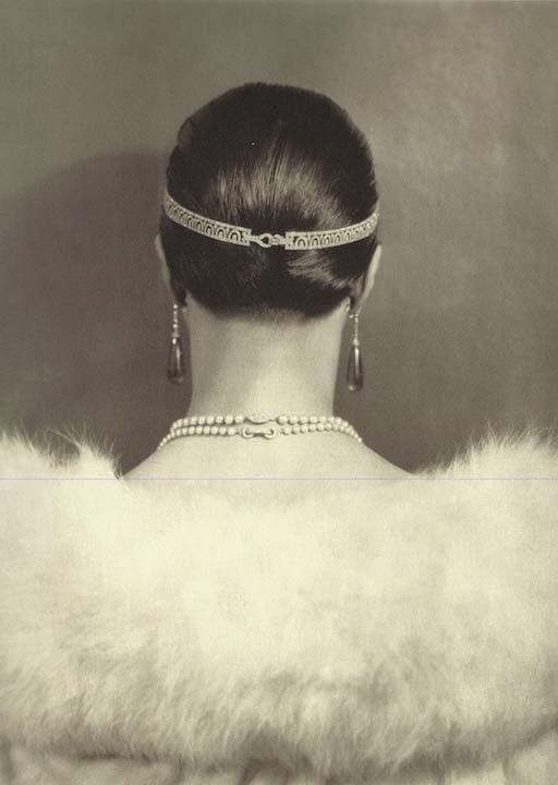 Carlotta Monterey with Diamond Head Bandeau by Cartier, 1924, Edward Steichen