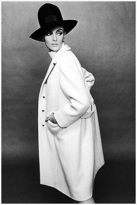 Grace Coddington, Terence Donovan, Harpers Bazaar, April 1964