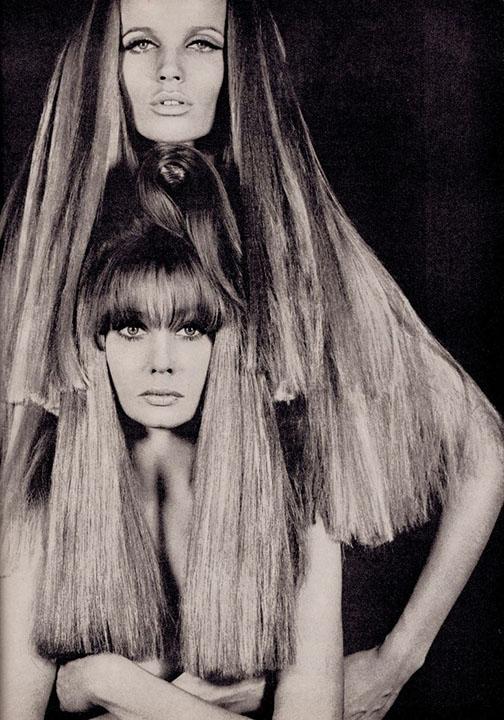 Verushka, Australian Vogue, December 1966