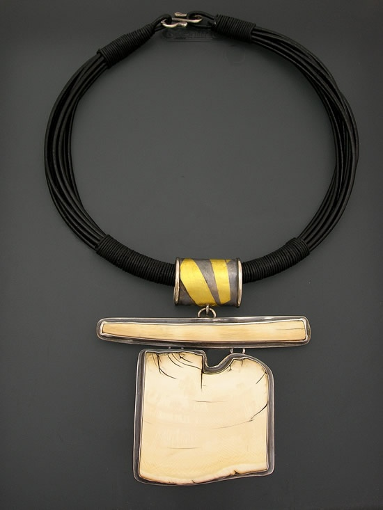Necklace, Patricia McCleery, Mammoth Ivory