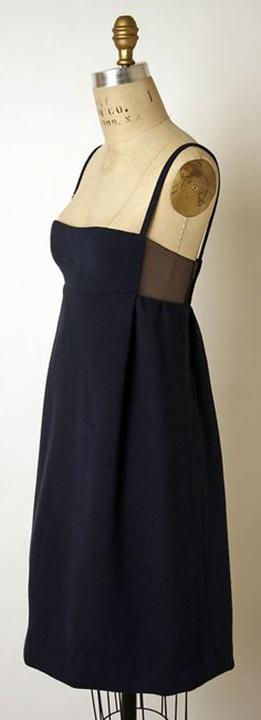Wool & Silk Evening Dress, James Galanos, 1966