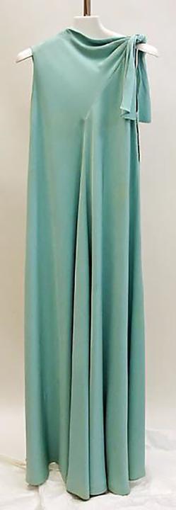 Evening Dress,Alix Barton for Madame Gres, 1968
