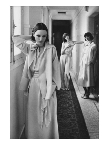 Chloe, Karl Lagerfeld, Hotel Lutetia, Paris, Deborah Turbeville, Vogue January 1975