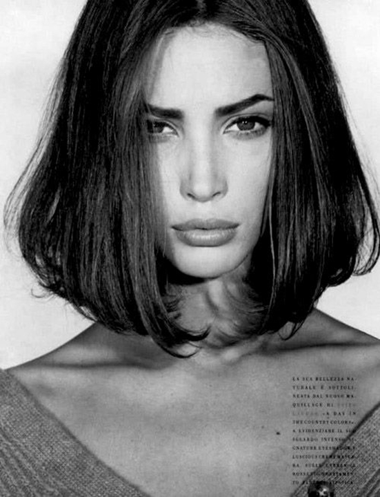 'Bentornata Christy' Christy Turlington, Steven Meisel, Italian Vogue October 1989