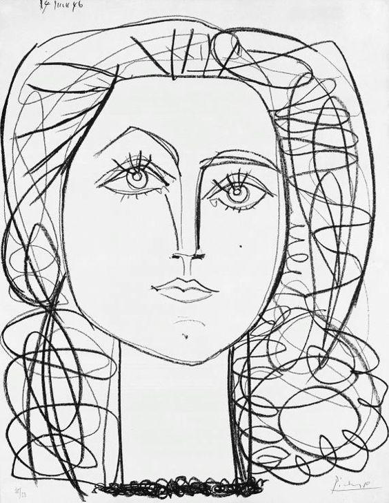 Francoise, Pablo Picasso, June 14, 1946